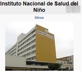 UND DIA COMO 30 DE OCTUBRE DE 1929 SE INAUGURA HOSPITAL DEL NIÑO EN LIMA