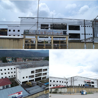 GOBERNADOR SUPERVISA INTERVENCION EN LA CONSTRUCCION DEL HOSPITAL DE PICHANAQUI