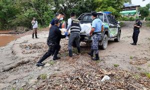 HALLAN CUERPO DE SEXAGENARIO EN LA RIBERA DEL RIO PERENE
