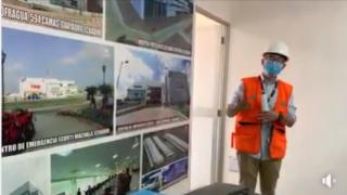 EL GOBERNADOR DE JUNÍN SUPERVISA AVANCE DE CONSTRUCCIÓN DE HOSPITAL DE PANGOA CATEGORIA II-1 CON INVERSIÓN DE MAS DE 9 MILLONES DE SOLES