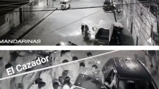 CUÁDRUPLE CHOQUE EN LA MERCED CHANCHAMAYO